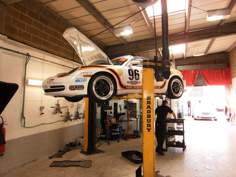 Porsche Boxster S Race Car Perfect Touch Performance Ltd