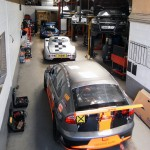 Track Day Cars in workshop
