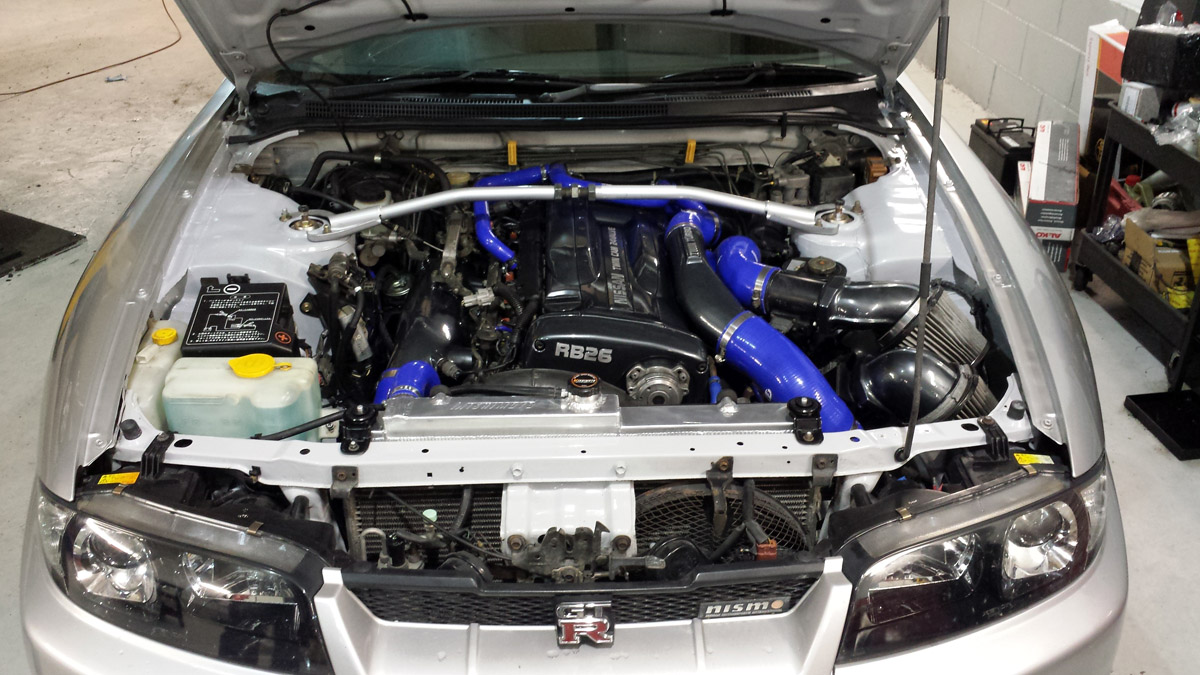 R33 Gtr Engine Bay Clean Up Perfect Touch Performance Ltd