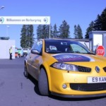 Arriving at Nurburgring