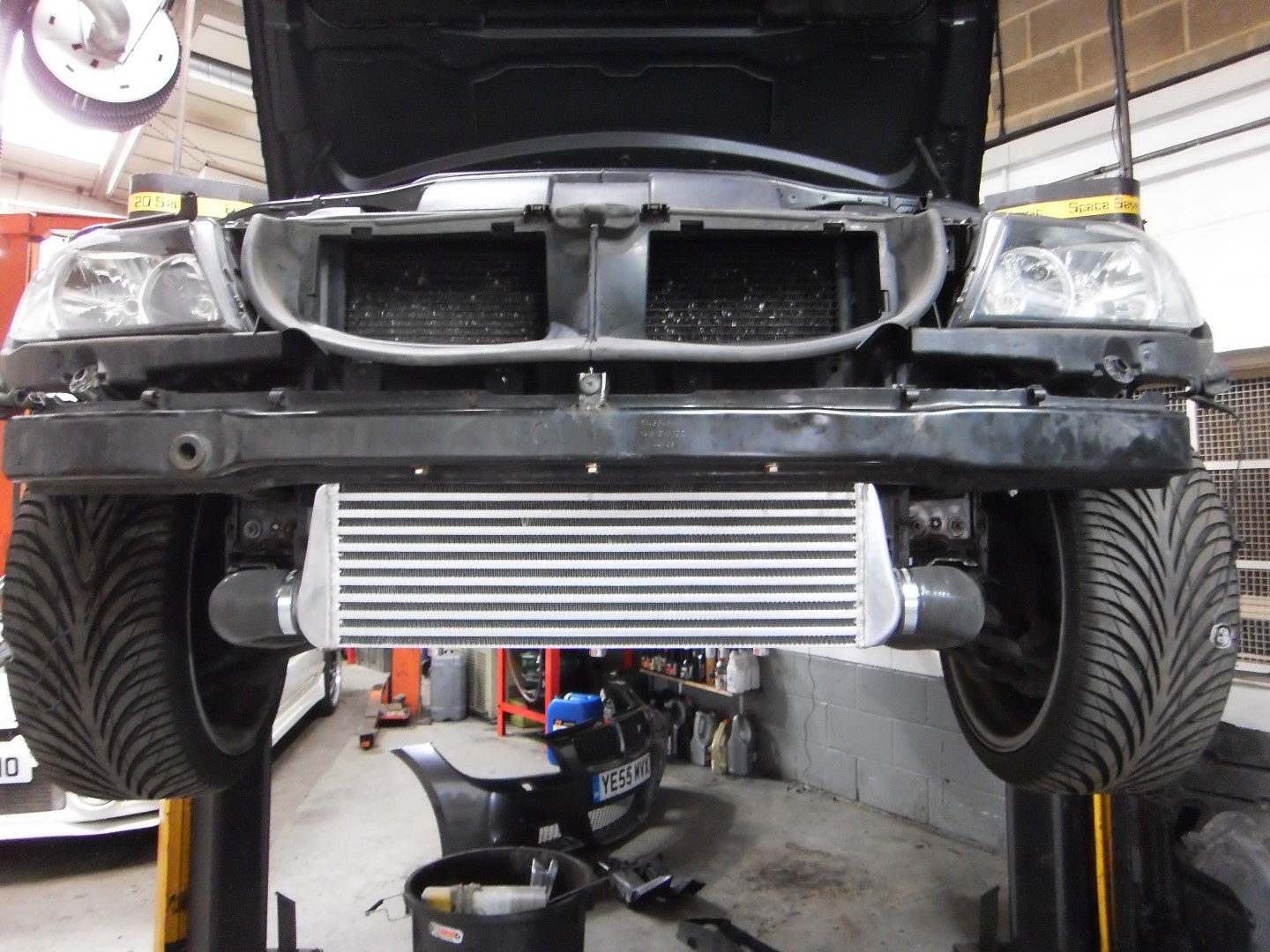 bmw  turbo intercooler upgrade perfect touch performance