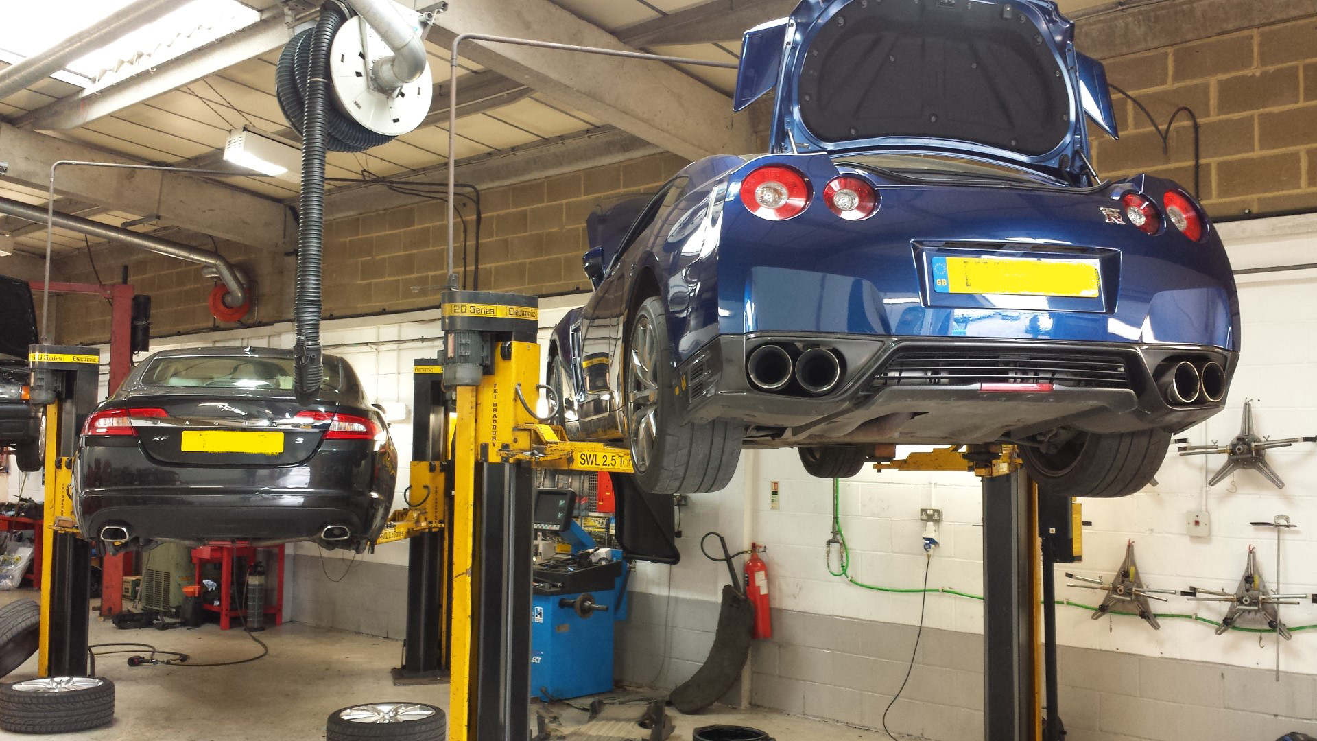Nissan Gtr In For Routine Service Perfect Touch