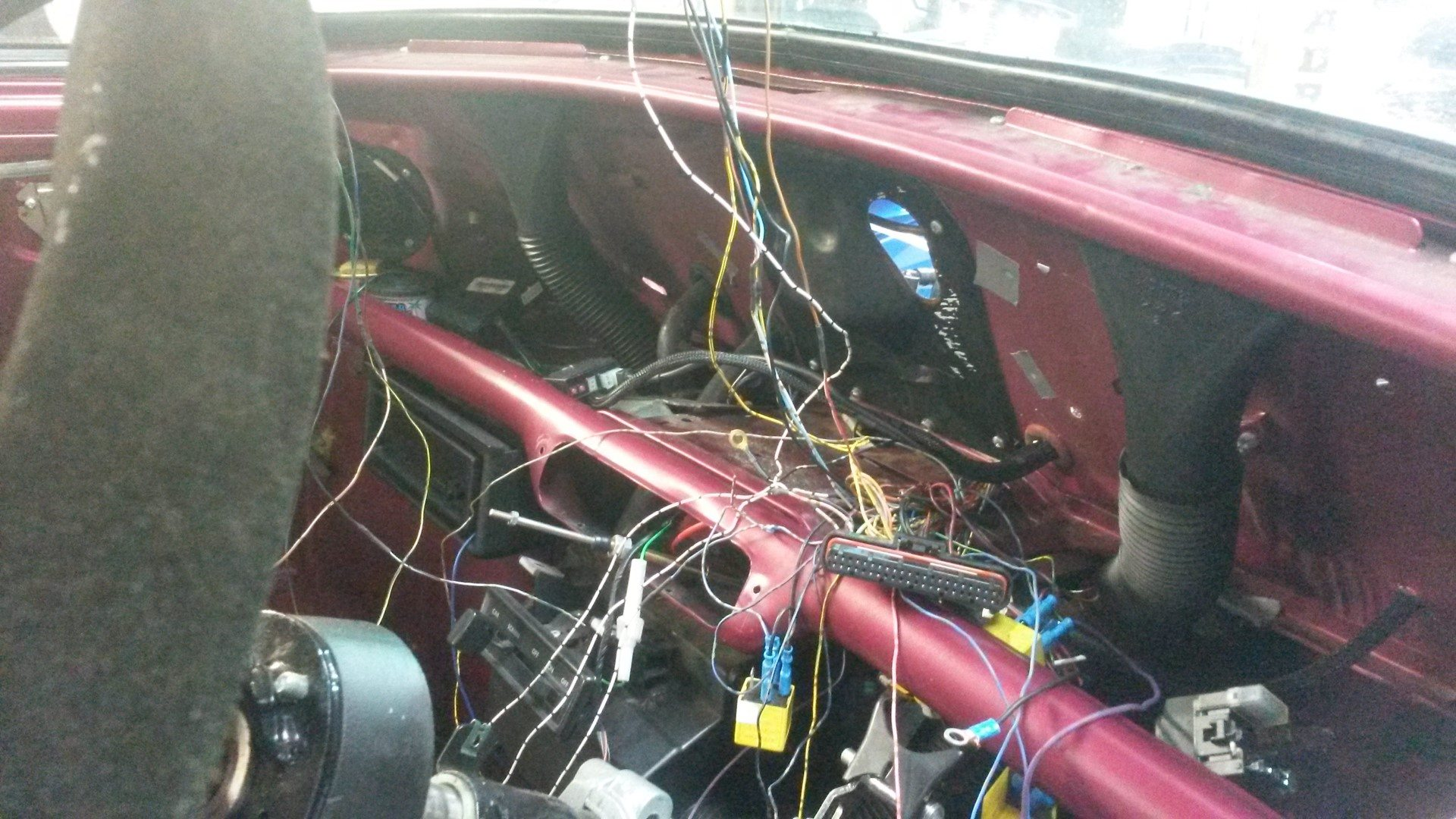 Mini With Yamaha R1 Engine Wiring Loom Work In Progress Perfect Vw Subaru Harness Undefined