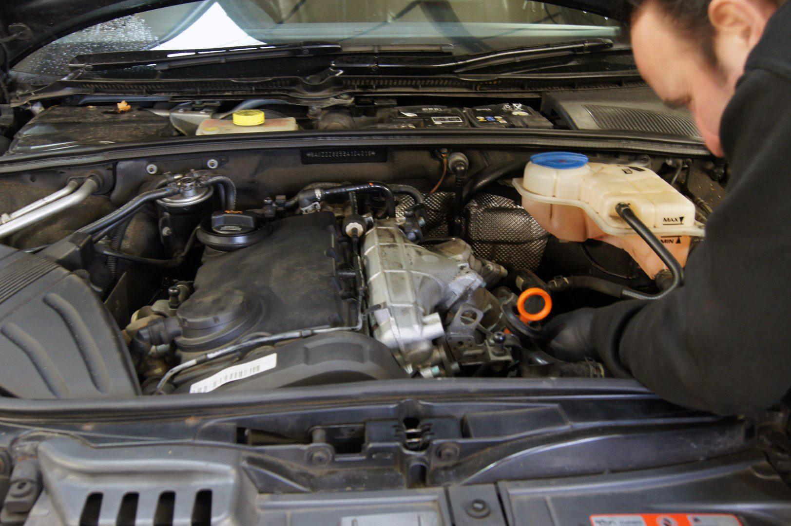 Audi A4 2 0tdi Crank Sensor Fault Perfect Touch