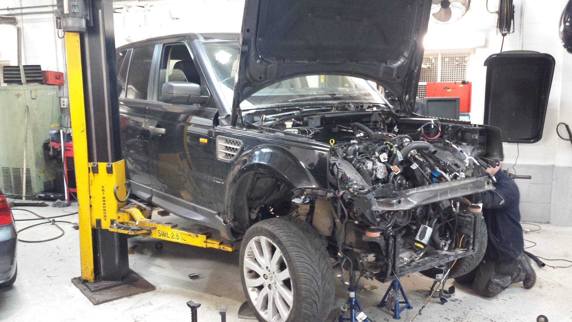 Range Rover Servicing Diagnostics Tuning London Perfect Touch - Range rover repair shop