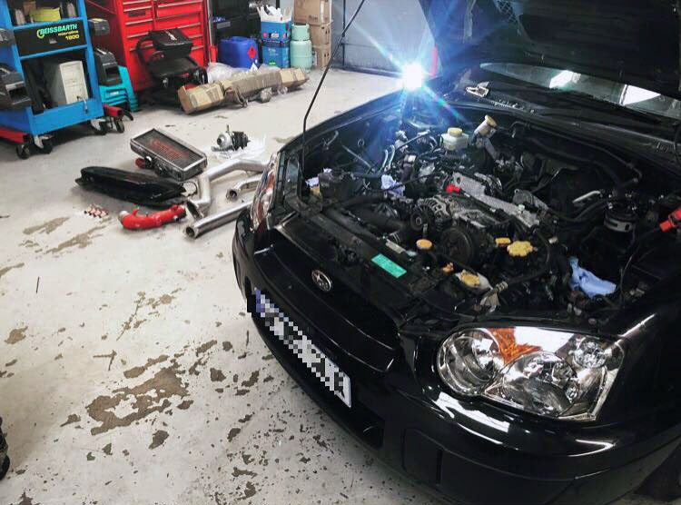 Subaru Impreza Servicing, Maintenance and Tuning London