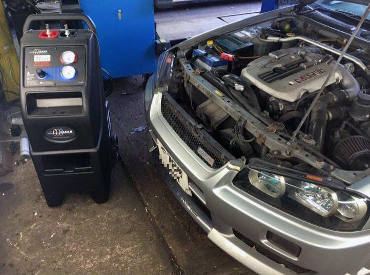 Nissan Skyline R34 Gtt Headlight Restoration And