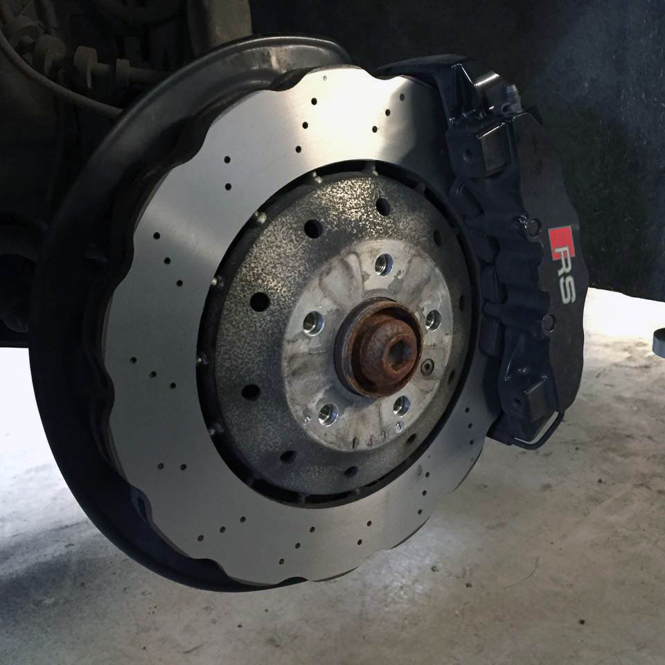 Audi Rs4 Brake Disc Skimming Perfect Touch Performance Ltd
