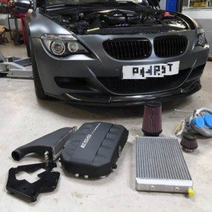 ess supercharger kit ready to install on bmw m6
