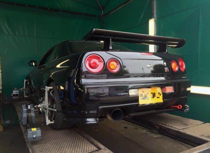 Nissan Skyline R34 Gtr Suspension Upgrades Perfect Touch
