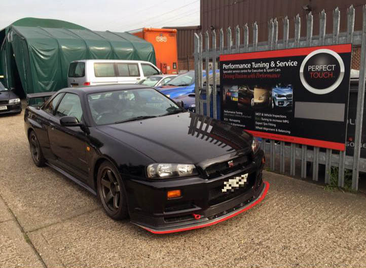 Nissan Skyline R34 GTR suspension upgrades - Perfect Touch ...