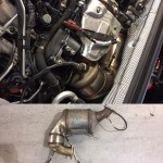 audi a5 with dpf removed