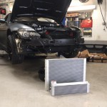 bmw m6 with uprated radiators
