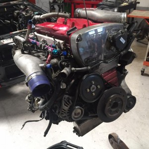 nissan skyline r34 gtr engine diagnosis, rebuild and ecu remapping