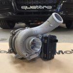 audi a5 turbo, intercooler upgrade and de-cat