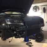 audi a5 turbo, intercooler upgrade and de-cat