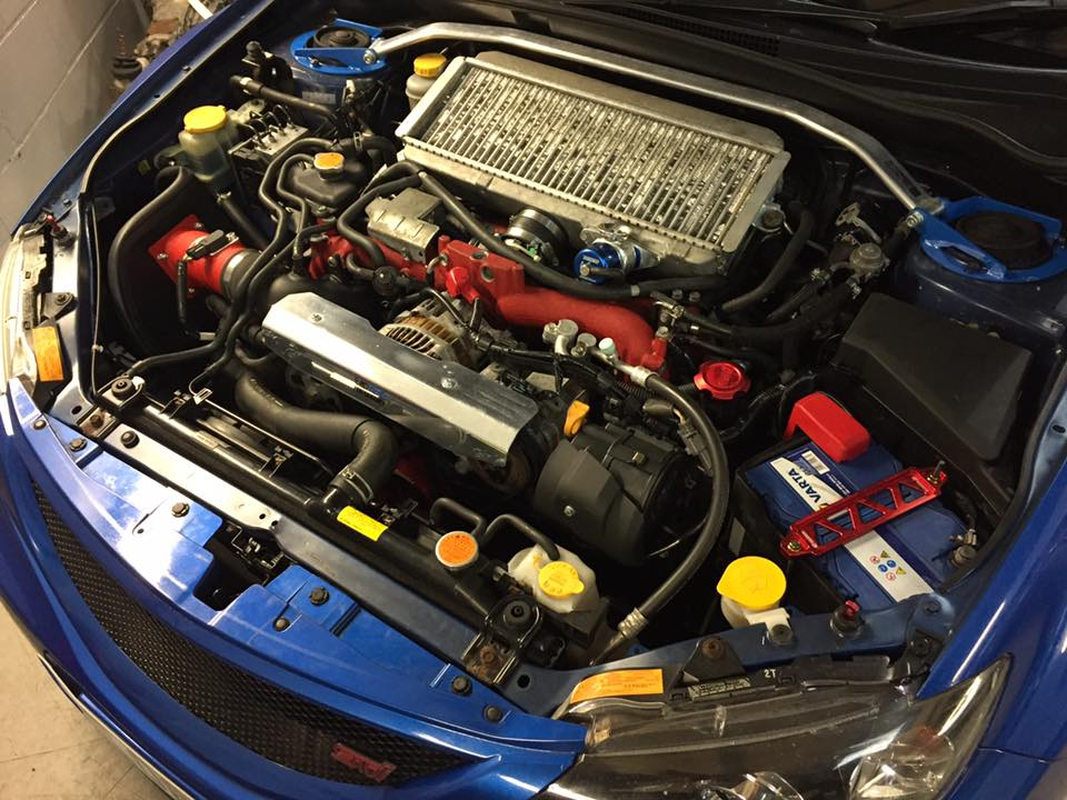 Subaru Impreza WRX STI hatch, fueling issues and oil leak - Perfect