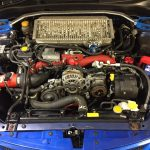 subaru impreza wrx sti hatchback, diagnosing fuel and oil leaks