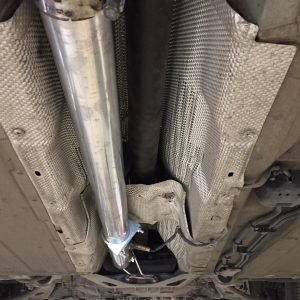 audi tts stage 2 remap and de cat pipe