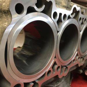 porsche 911 c2s 3.8 litre engine rebuild due to cylinder fault
