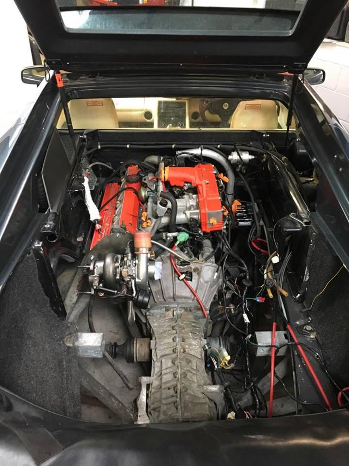 Lotus Esprit 2 2l Turbo Engine Rebuild Perfect Touch