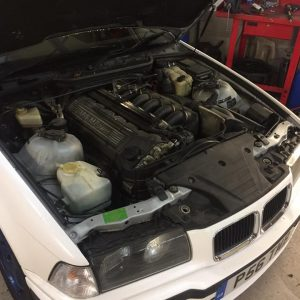 bmw e36 m3 vanos rebuild and mishimoto radiator upgrade