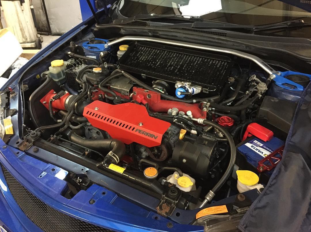 Wrx Performance Parts >> Subaru Impreza WRX STI Hatchback Front Mount Intercooler ...